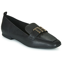 Zapatos Mujer Mocasín Tommy Hilfiger POLISHED TOMMY LOAFER Negro