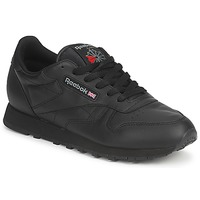 Zapatos Mujer Zapatillas bajas Reebok Classic CLASSIC LEATHER Negro