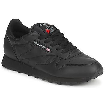 Zapatos Zapatillas bajas Reebok Classic CLASSIC LEATHER Negro
