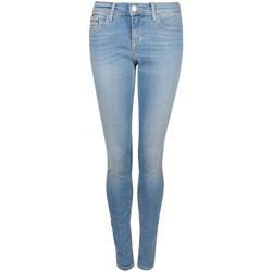 textil Mujer Vaqueros slim Calvin Klein Jeans  Azul
