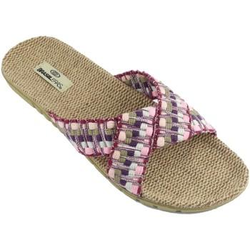 Zapatos Mujer Chanclas Brasileras Tren 50 Purple