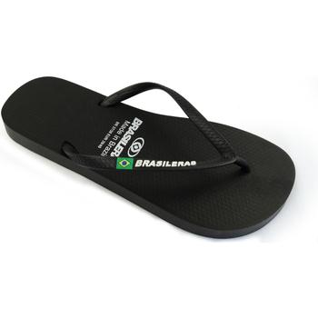 Zapatos Chanclas Brasileras Clasica Brasil NL W Black