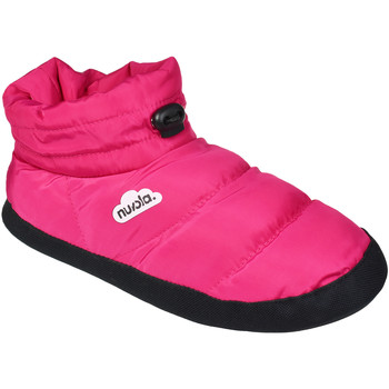 Zapatos Pantuflas Nuvola. Zapatillas de estar en casa Boot Home Suela de Goma Fuchsia