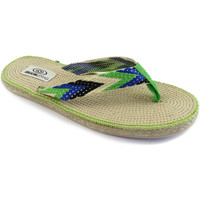Zapatos Mujer Chanclas Brasileras Tren 100 Green