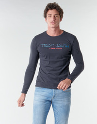 textil Hombre Camisetas manga larga Teddy Smith TICLASS BASIC M Marino