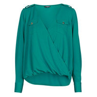 textil Mujer Tops / Blusas Marciano SALLY CREPE TOP Verde