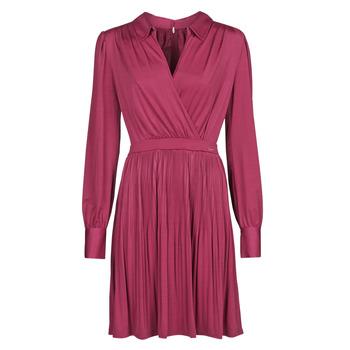 textil Mujer Vestidos cortos Marciano PLAYA DRESS Burdeo