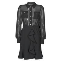 textil Mujer Vestidos cortos Marciano CAROL SHORT DRESS Negro