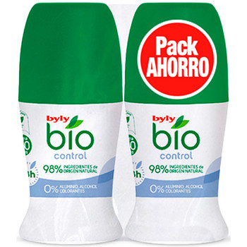 Belleza Desodorantes Byly Bio Natural 0% Control Deo Roll-on Lote 2 Pz 2 u