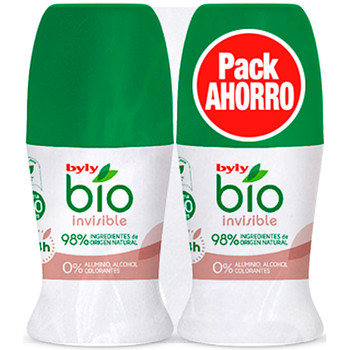 Belleza Desodorantes Byly Bio Natural 0% Invisible Deo Roll-on Lote 2 Pz 2 u