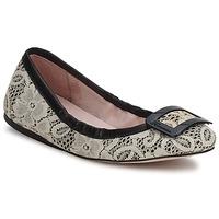 Zapatos Mujer Bailarinas-manoletinas Fornarina LYZA Negro / Fabric / Wo's / Shoe