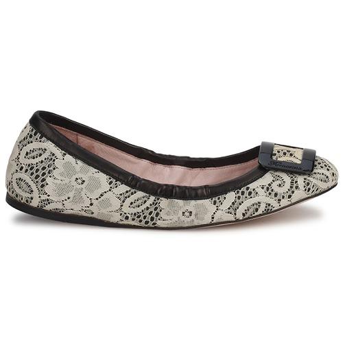 Zapatos Bailarinas Lyza Mujer Shoe Wo's Fornarina manoletinas NegroFabric WH2ED9I