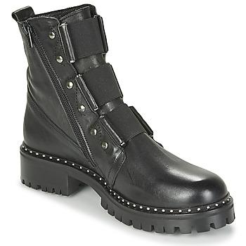 Zapatos Mujer Botas de caña baja Philippe Morvan HARMY V1 ROMA NOIR Negro