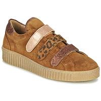 Zapatos Mujer Zapatillas bajas Philippe Morvan ZEUS2 V1 SILKY CAMEL Marrón