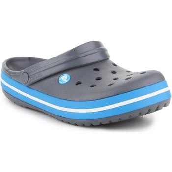 Zapatos Hombre Zuecos (Mules) Crocs Crocband  11016-07W gris