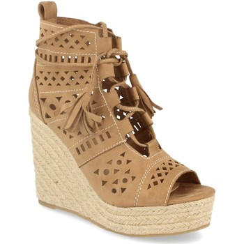 Zapatos Mujer Sandalias Buonarotti 1A-0005 Beige