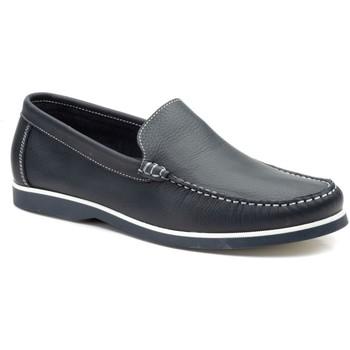 Zapatos Hombre Zapatos náuticos Iberico Shoes Zapatos nauticos de piel con cordones by Iberico Bleu