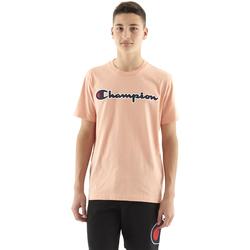 textil Hombre Camisetas manga corta Champion Satin Script Logo Camiseta  con cuello redondo