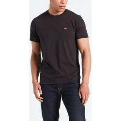 textil Hombre camisetas manga corta Levis Strauss CAMISETA LEVIS ORIGINAL HM BLACK Negro