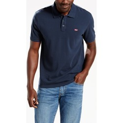 textil Hombre polos manga corta Levis Strauss POLO LEVIS HOUSE MARK H. DRESS BLUE T2XL Azul