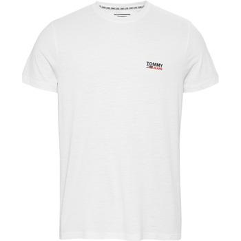 textil Hombre Camisetas manga corta Tommy Hilfiger POLO  BLANCO Blanco