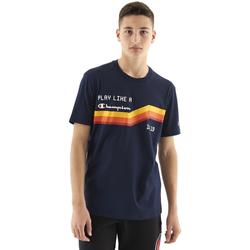 textil Hombre Camisetas manga corta Champion Camiseta  cuello caja hombre