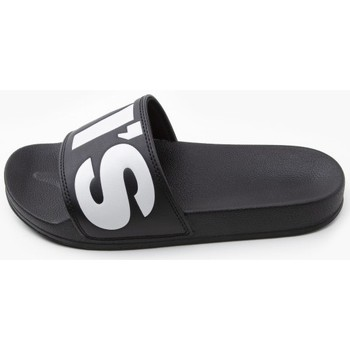 Zapatos Mujer Chanclas Levi's Strauss CHANCLA LEVIS JUNE Negro