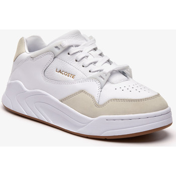 Zapatos Mujer Zapatillas bajas Lacoste ZAPATILLA  COURT SLAM 319 WHITE/GUM 04 Blanco