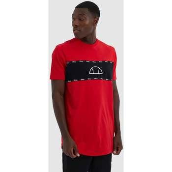 textil Hombre Camisetas manga corta Ellesse Camiseta Ellese Grosso Rojo
