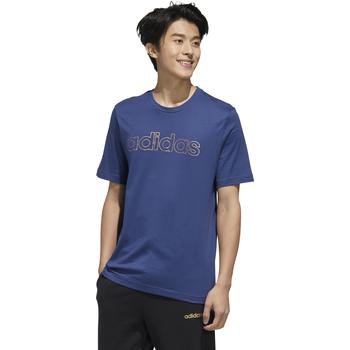 textil Hombre camisetas manga corta Adidas Performace CAMISETA ADIDAS M ESS BR