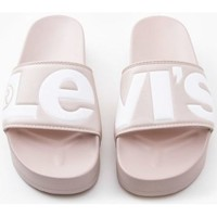 Zapatos Mujer Chanclas Levis Strauss CHANCLA LEVIS JUNE S BOLD L Rosa