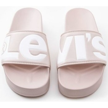 Zapatos Mujer Chanclas Levi's Strauss CHANCLA LEVIS JUNE S BOLD L Rosa