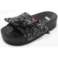 Zapatos Mujer Chanclas Levis Strauss CHANCLA LEVIS JUNE S BOLD B Negro