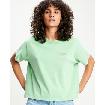 textil Mujer Camisetas manga corta Levi's CAMISETA LEVIS GRAPHIC VARSITY