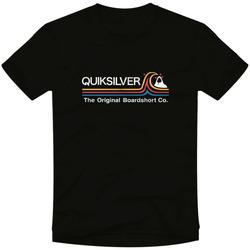 textil Hombre Camisetas manga corta Quiksilver Camiseta  Stone Cold Classic Negro