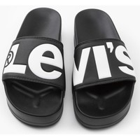 Zapatos Mujer Chanclas Levis Strauss CHANCLA LEVIS JUNE S BOLD L Negro