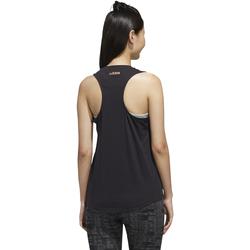 textil Mujer camisetas sin mangas Adidas Performace CAMISETA ADIDAS W E BRANDED TK Negro