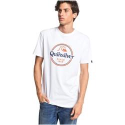 textil Hombre Camisetas manga corta Quiksilver Camiseta  Words Remain Blanco