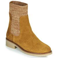 Zapatos Mujer Botas de caña baja Bensimon BOOTS CHAUSSETTE Marrón
