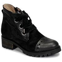 Zapatos Mujer Botas de caña baja Casta MANDA Negro