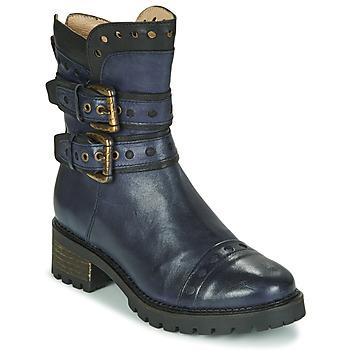 Zapatos Mujer Botines Casta MERITA Azul / Negro