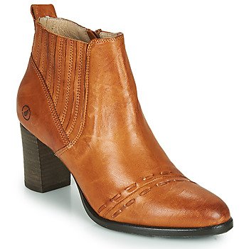 Zapatos Mujer Botines Casta SANTA Cognac