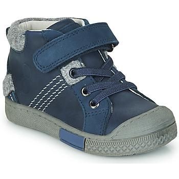 Zapatos Niño Zapatillas altas Mod'8 HERY Marino