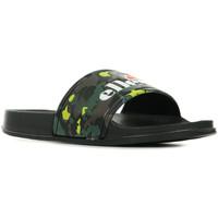 Zapatos Mujer Chanclas Ellesse Duke Camo Fluo Black Wm Negro