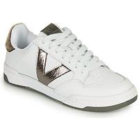 Zapatos Mujer Zapatillas bajas Victoria CRONO PIEL Blanco / Bronce