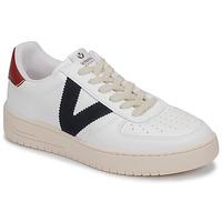 Zapatos Zapatillas bajas Victoria SIEMPRE PIEL VEG Blanco / Azul / Rojo