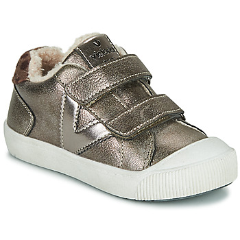 Zapatos Niña Zapatillas bajas Victoria HUELLAS  TIRAS Plata