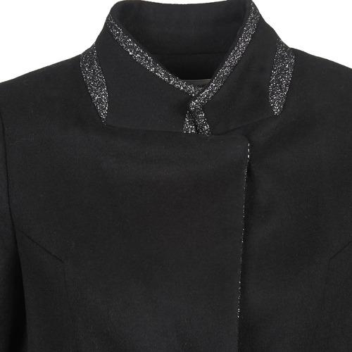 Textil Mujer Alexia Negro Abrigos Naf yvYbf67g