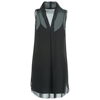 textil Mujer vestidos cortos Naf Naf E-LALY Negro