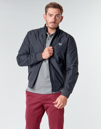 textil Hombre cazadoras Fred Perry BRENTHAM JACKET Marino